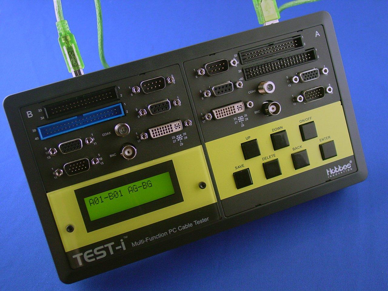 Tester Für Kabel Multimedia PC Generator Über Toni