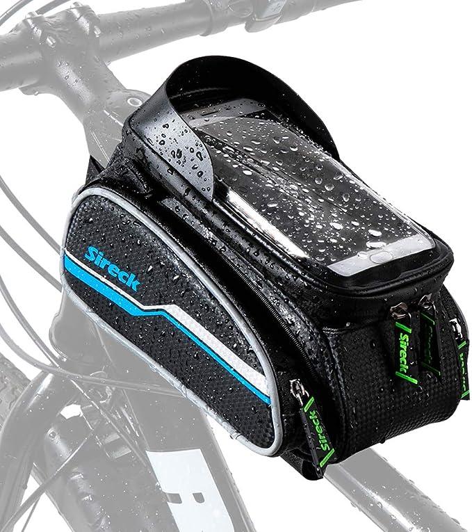 Yeelight Bicycle Frame Bag Waterproof Bicycle Top Tube Phone Holder Hard Eva GPS Stand Pressure