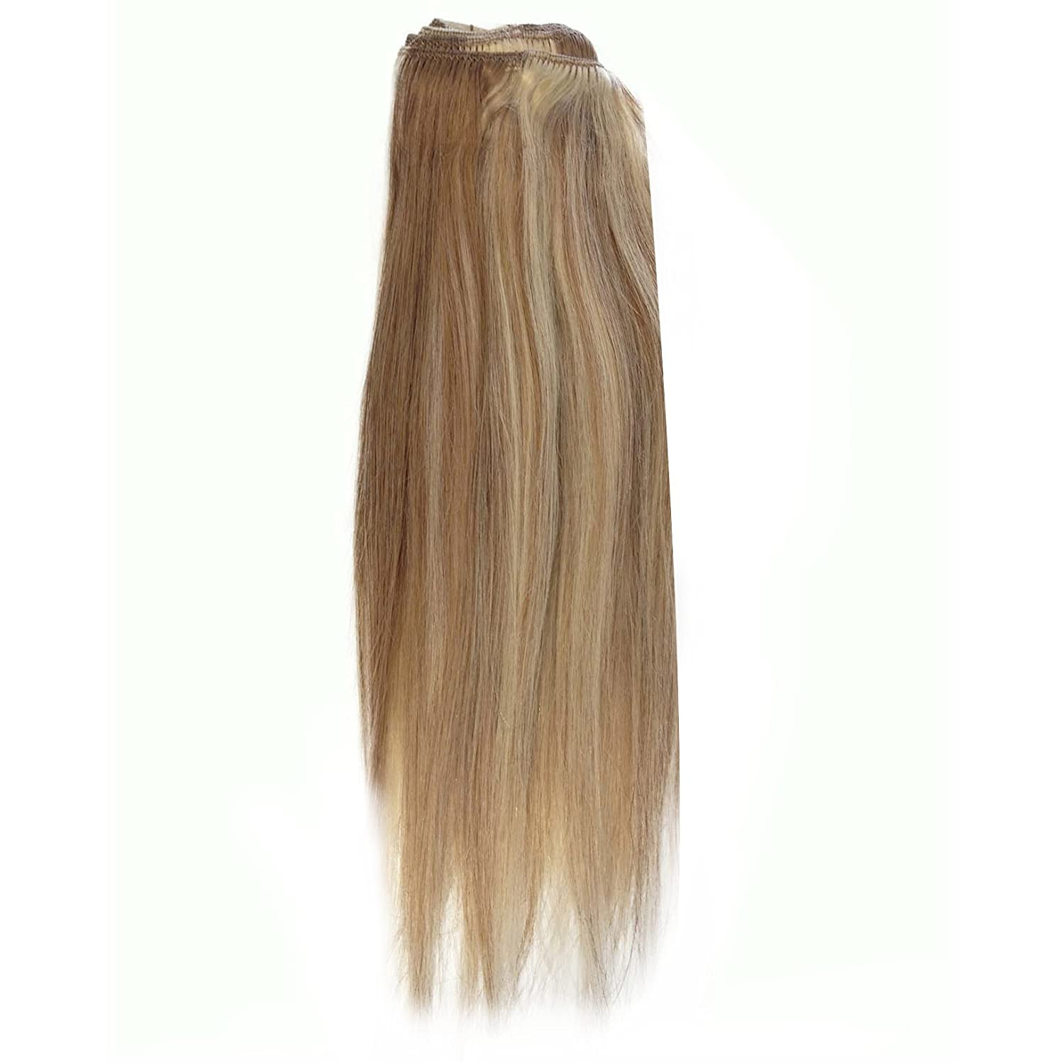Amazon 22 Inch Diy Clip In Human Hair Extensions 12613 Brown