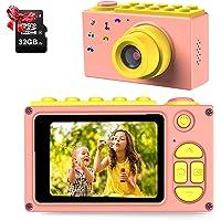 """ShinePick Cámara de Fotos para Niños,Mini Video Cámara Zoom Digital de 4X / 8MP / 32GB / 2"""" TFT LCD de la Pantalla con…"""