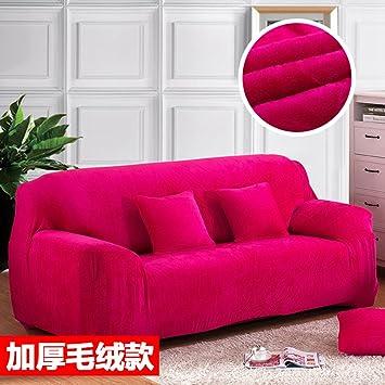 Amazon.com: Fundas de sofá gruesas para 1 2 3 4 plazas ...