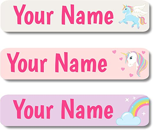 Pink and Purple Polka Dot Return Address Labels 120 Personalized  Glossy Peel and Stick Labels