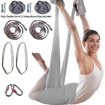 Amazon.com: Hamaca de yoga para entrenamiento de tenis ...