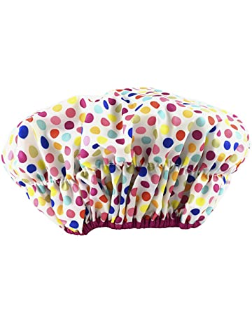 d8d23d6e8f69 Betty Dain Fashionista Collection Mold Resistant Lined Shower Cap