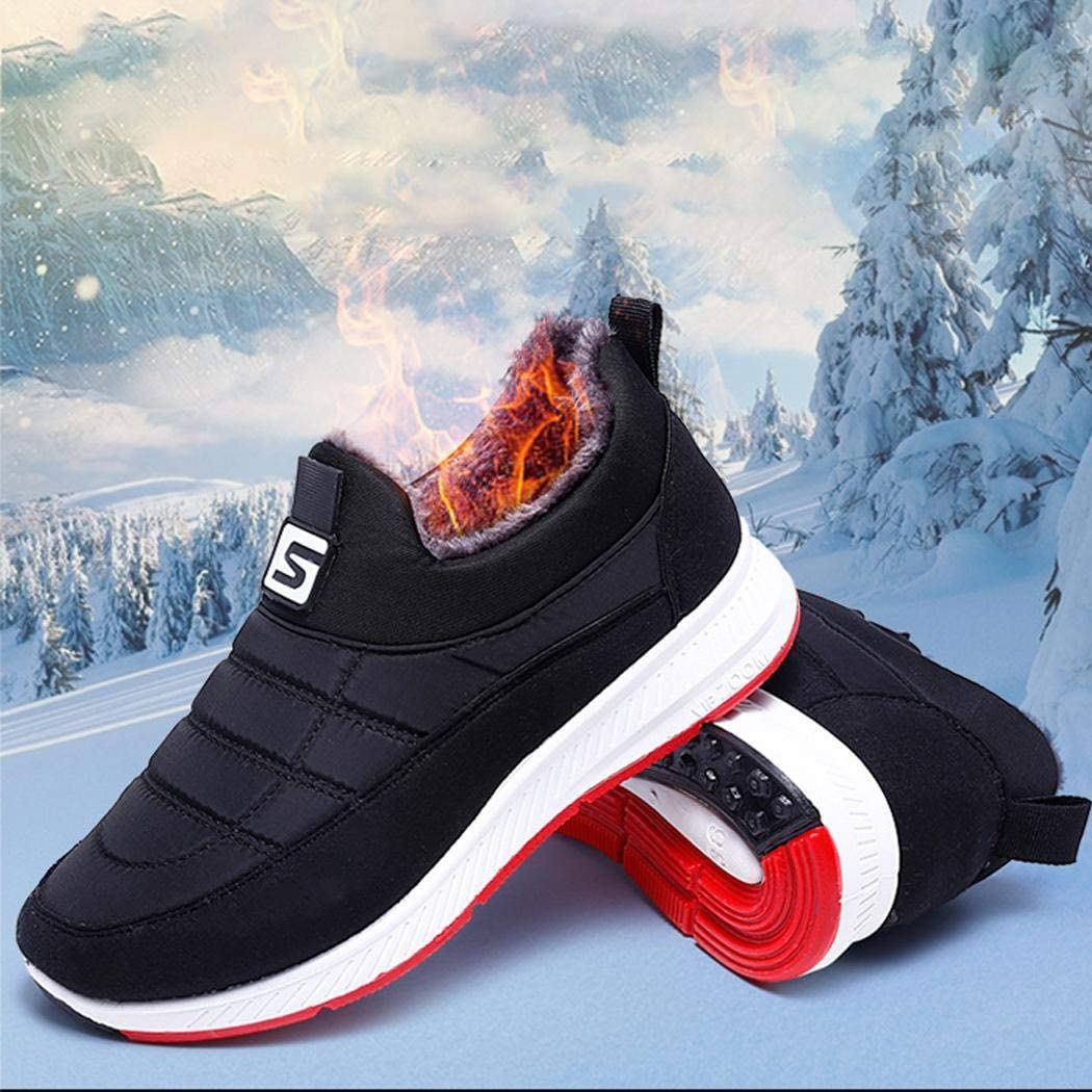 Zippem Women Men Fashion Flat Heel Ankle Height Slip On Patchwork Winter Washcloths