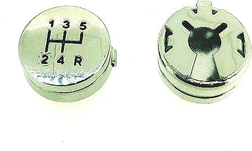 Gemelolandia Cubrebotones Marchas Gear Shifter Button Covers: Amazon.es: Joyería