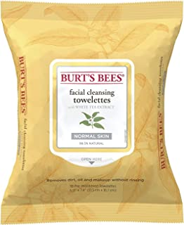 product image for Burt's Bees Facial Cleansing Towelettes with White Tea Extract -- 30 Towelettes