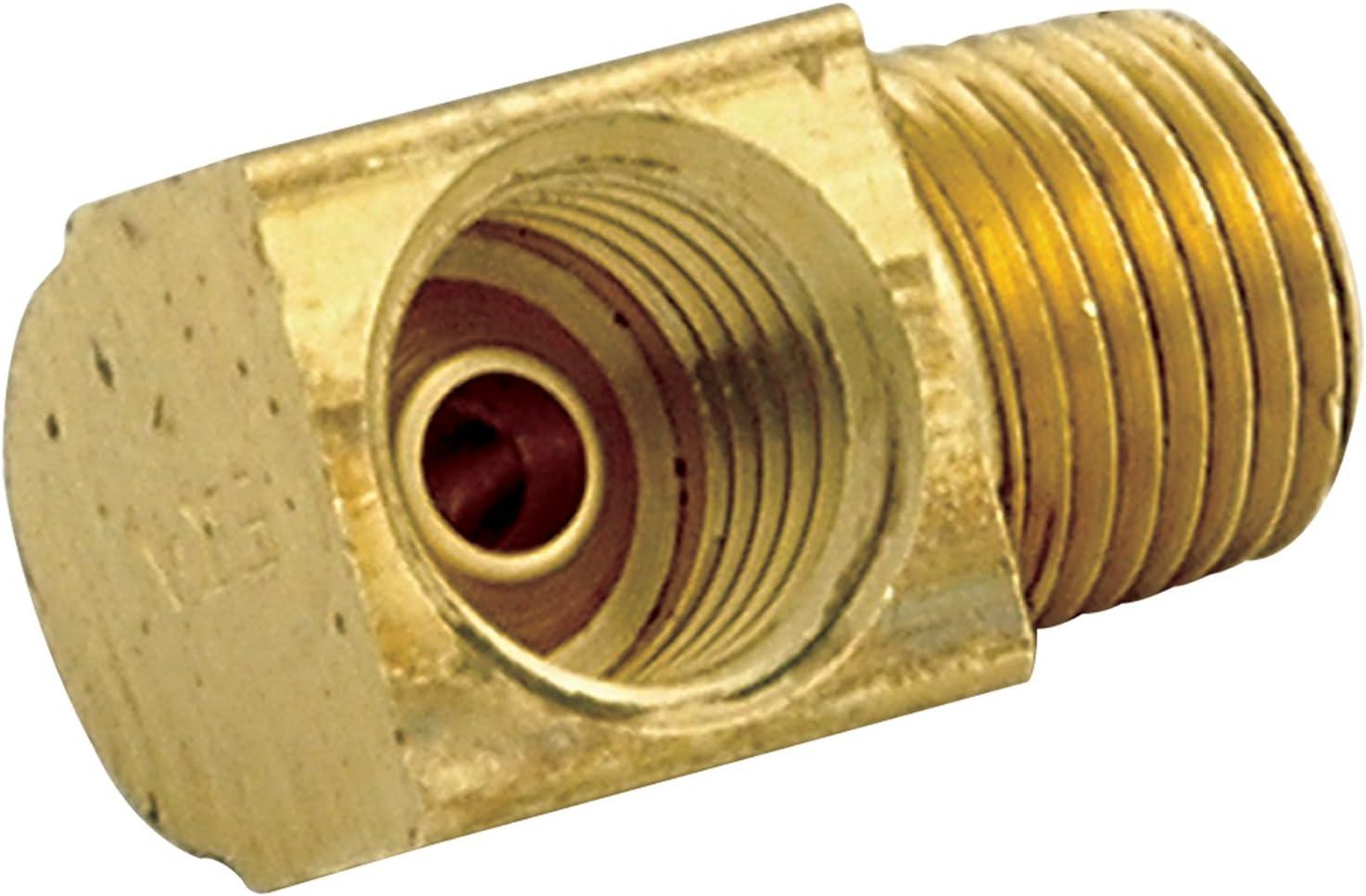 Allstar Performance ALL50125 1//8 NPT 3//8-24 90 Degree Adapter Fitting 4 Pack