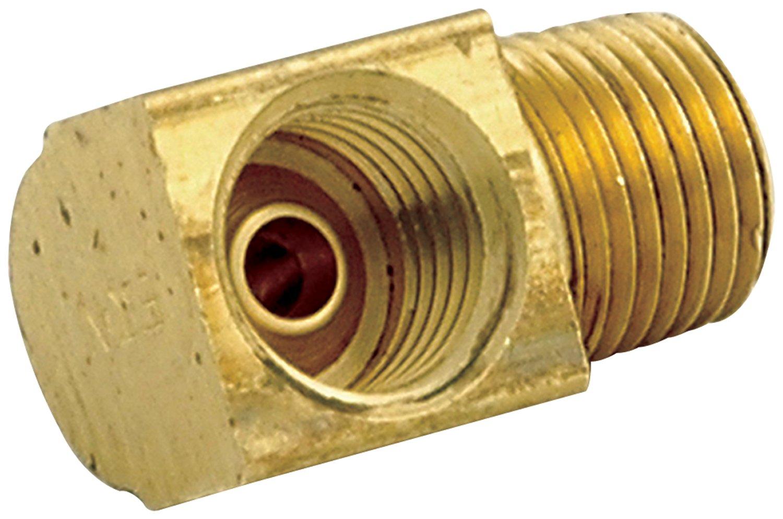 3//16 90 Degree Adapter Fitting Allstar Performance ALL50125 1//8 NPT