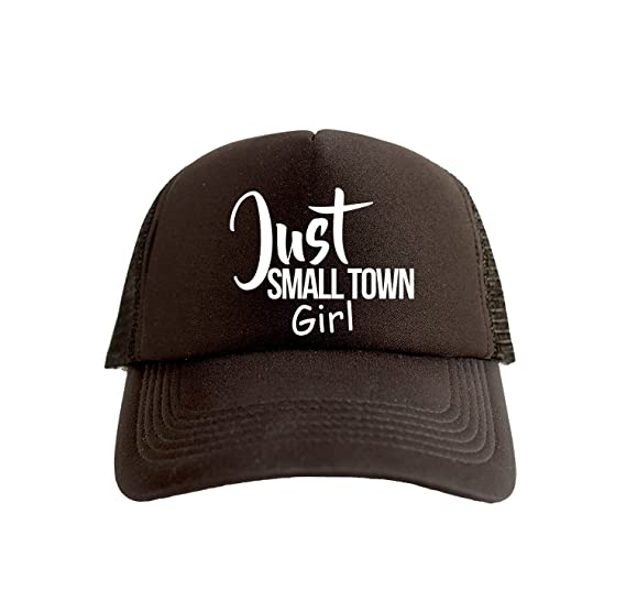 Just Small Town Girl Cool Swag Hip Hop Print Trucker Hat Cap