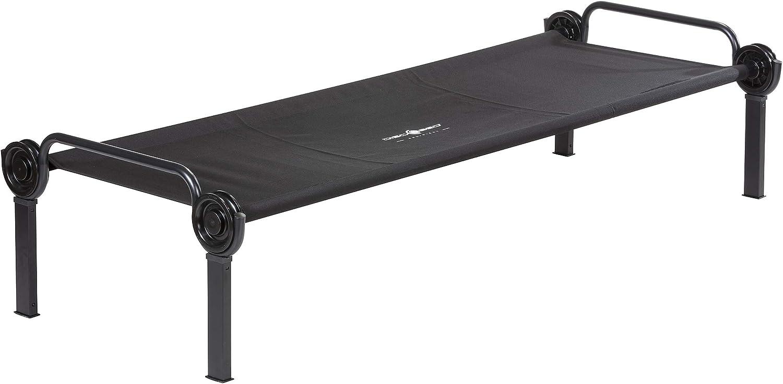Matte Disc-O-Bed Sol-O-Cot Feldbett schwarzer Rahmen