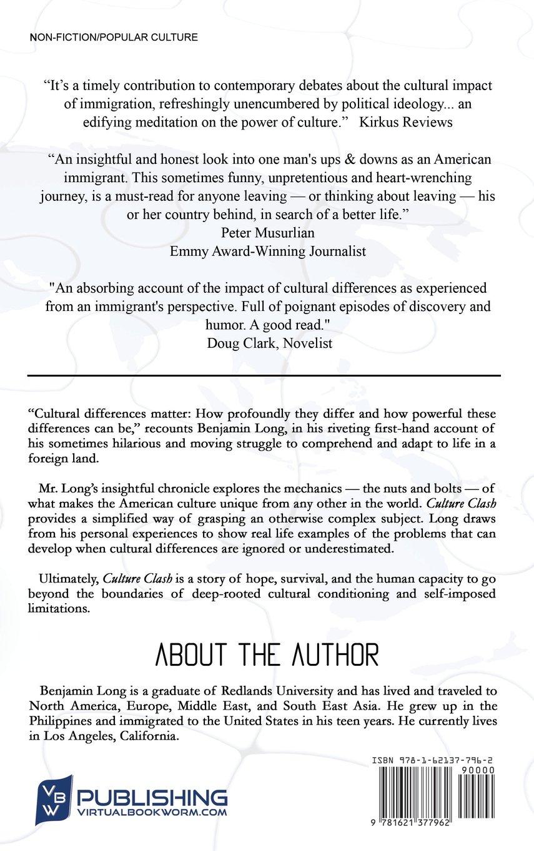 Culture Clash Evolution Of An Expat Benjamin Long 9781621377962
