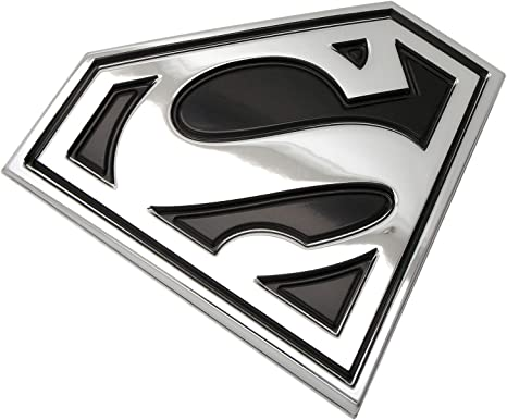Motorcycles Chrome, Pink, White DC Comics Automotive Sticker Decal Badge Flexes to Fully Adhere to Cars Trucks Almost Anything Supergirl Logo 3D Car Emblem Laptops