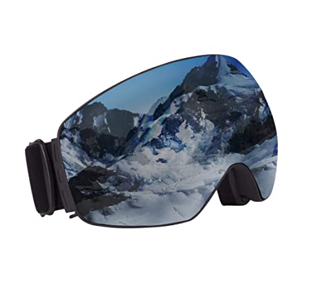 4089c3ef3a9 Image Unavailable. Image not available for. Color  OMG Shop Ski Snowboard  Snow Goggles