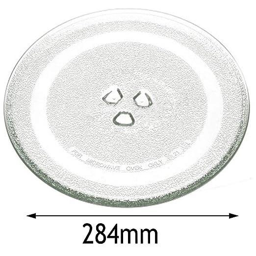 Spares2go - Plato giratorio de cristal para horno Panasonic ...