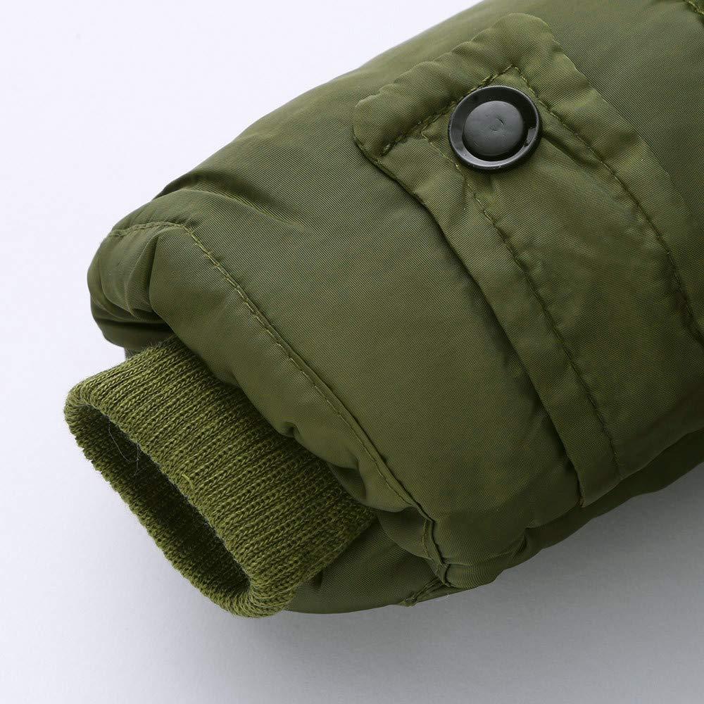 Girl Boy Kids Cotton Jacket Coat Hooded Autumn Winter Warm Down Jacket Thick