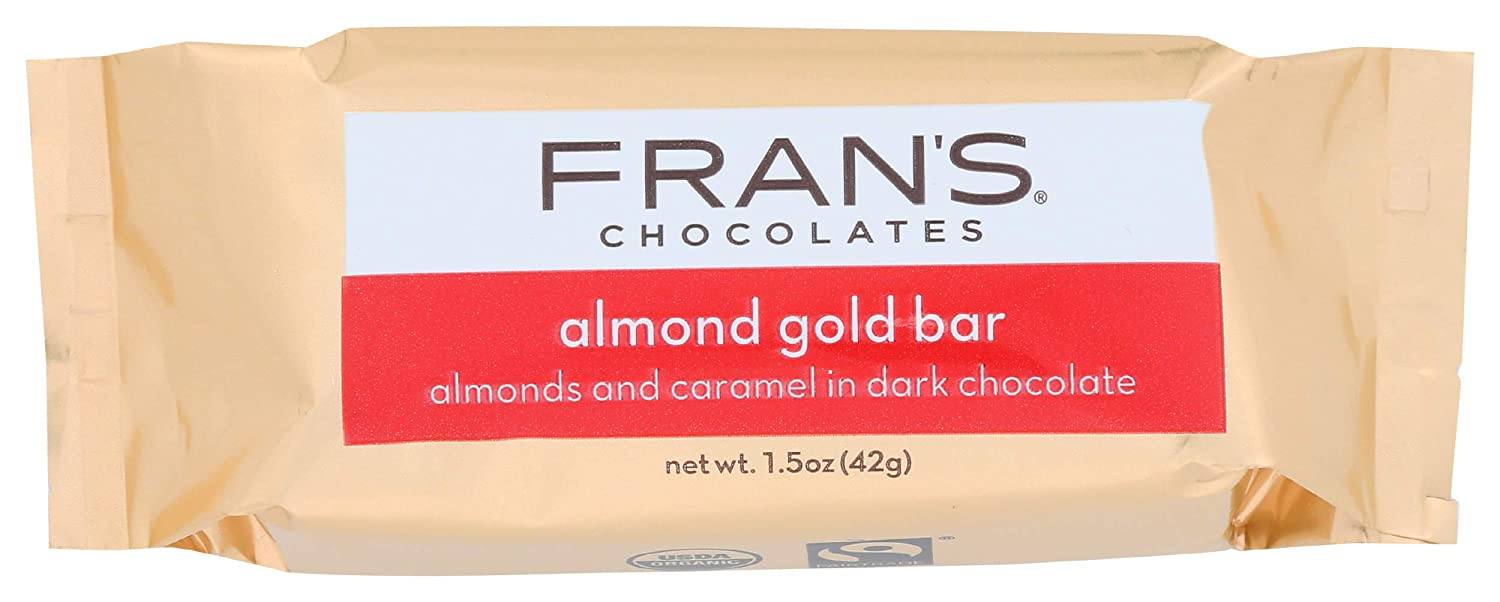 Fran's, Gold Bar With Almonds, 1.6 oz