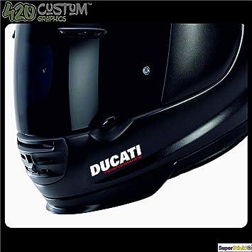 SUPERSTICKI® Ducati Performance Motorradhelm Helm Biker