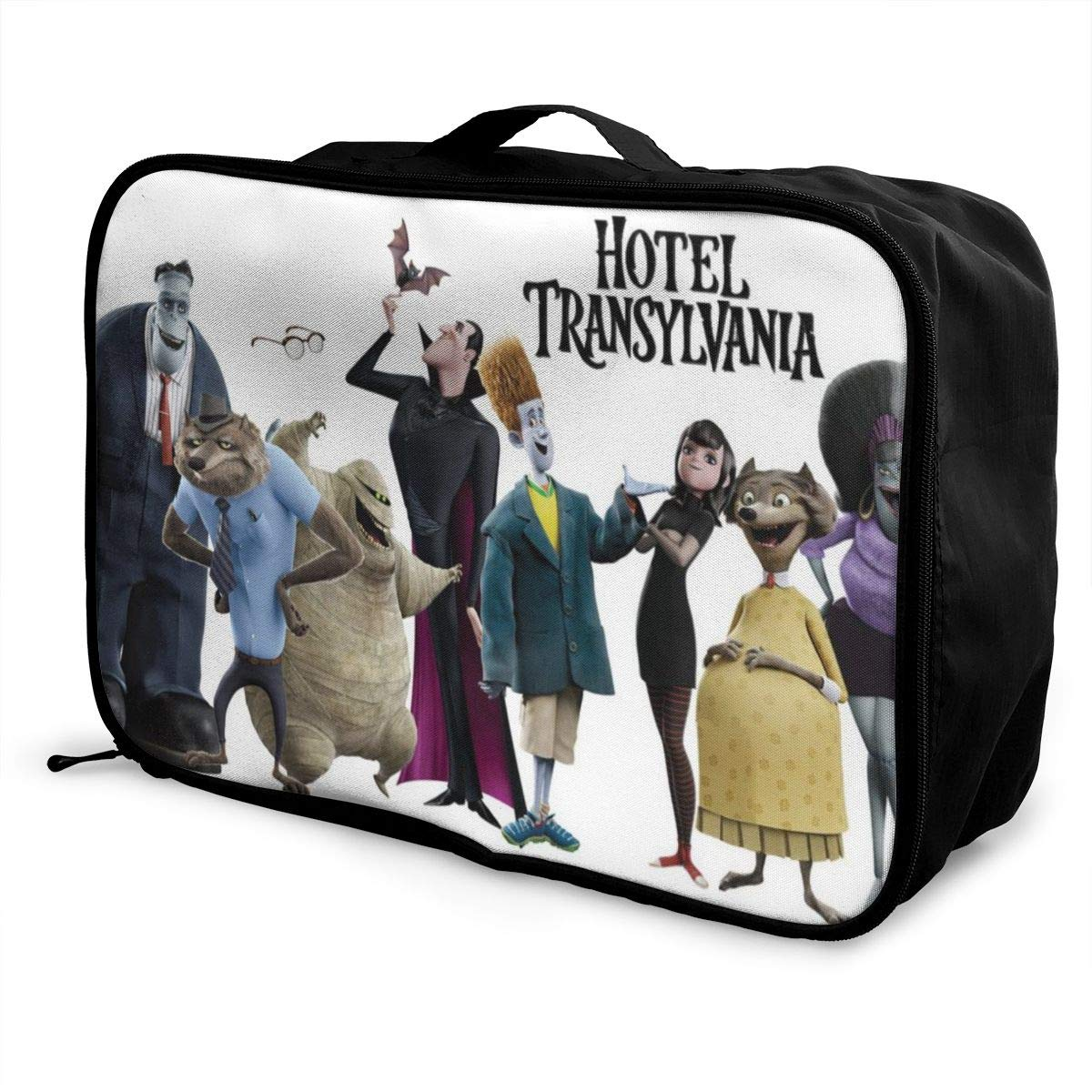 Hotel Transylvania Customize Casual Portable Travel Bag Suitcase Storage Bag Luggage Packing Tote Bag Trolley Bag