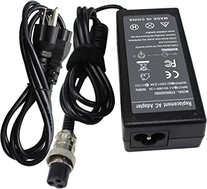 24V Battery Charger Power Supply Cord For Razor Betty Bistro Bella Scooter 2A