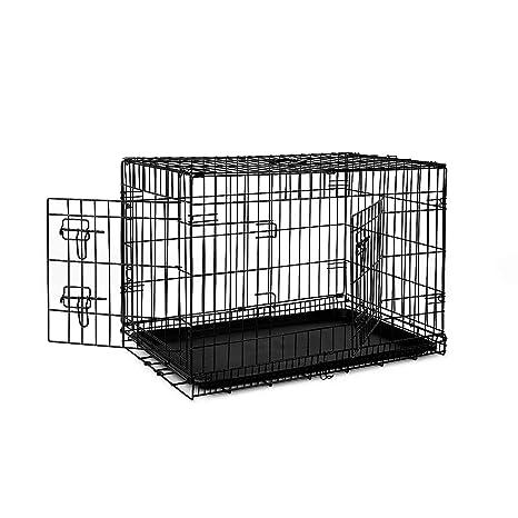 dibea DC00492 Jaula de transporte para perros y animales pequeños ...