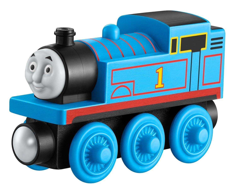 Fisher-Price Mattel Y5492 - Thomas und seine Freunde Connor - Holz Lokomotive Thomas & Friends
