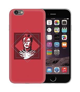 David Bowie Rock Star Musician Fan Illustartion_BEN2367 Protective ...