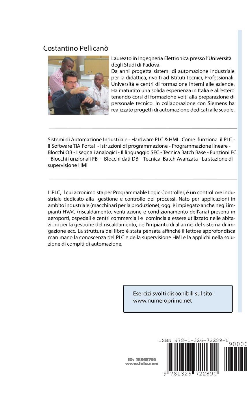 Buy Corso Pratico Di PLC e Supervisione HMI Book Online at
