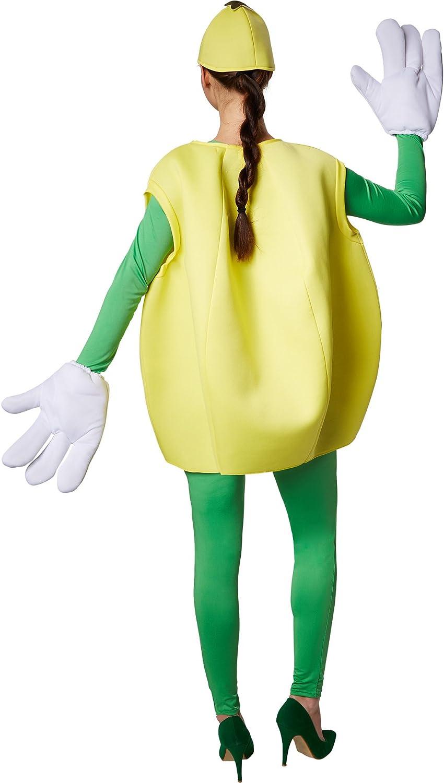 Limone Costume per adulti unisex gruppi frutti Costume Costume