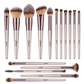 76a8d686890f Makeup Brushes, ITME [Upgrade Version] Premium Makeup Brush Synthetic  Cosmetics Professional Handle...