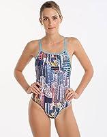 37720a64387 Maru Tahiti Pacer Legacy Scoop Back Ladies Swimsuit: Amazon.co.uk ...