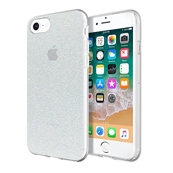 70e158ddccc13 Incipio Apple iPhone 6/6S/7/8 Design Series Case - Iridescent White Glitter