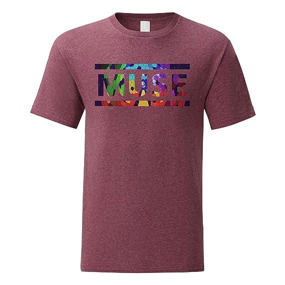 LaMAGLIERIA T-Shirt Homme Muse T-Shirt 100/% Coton