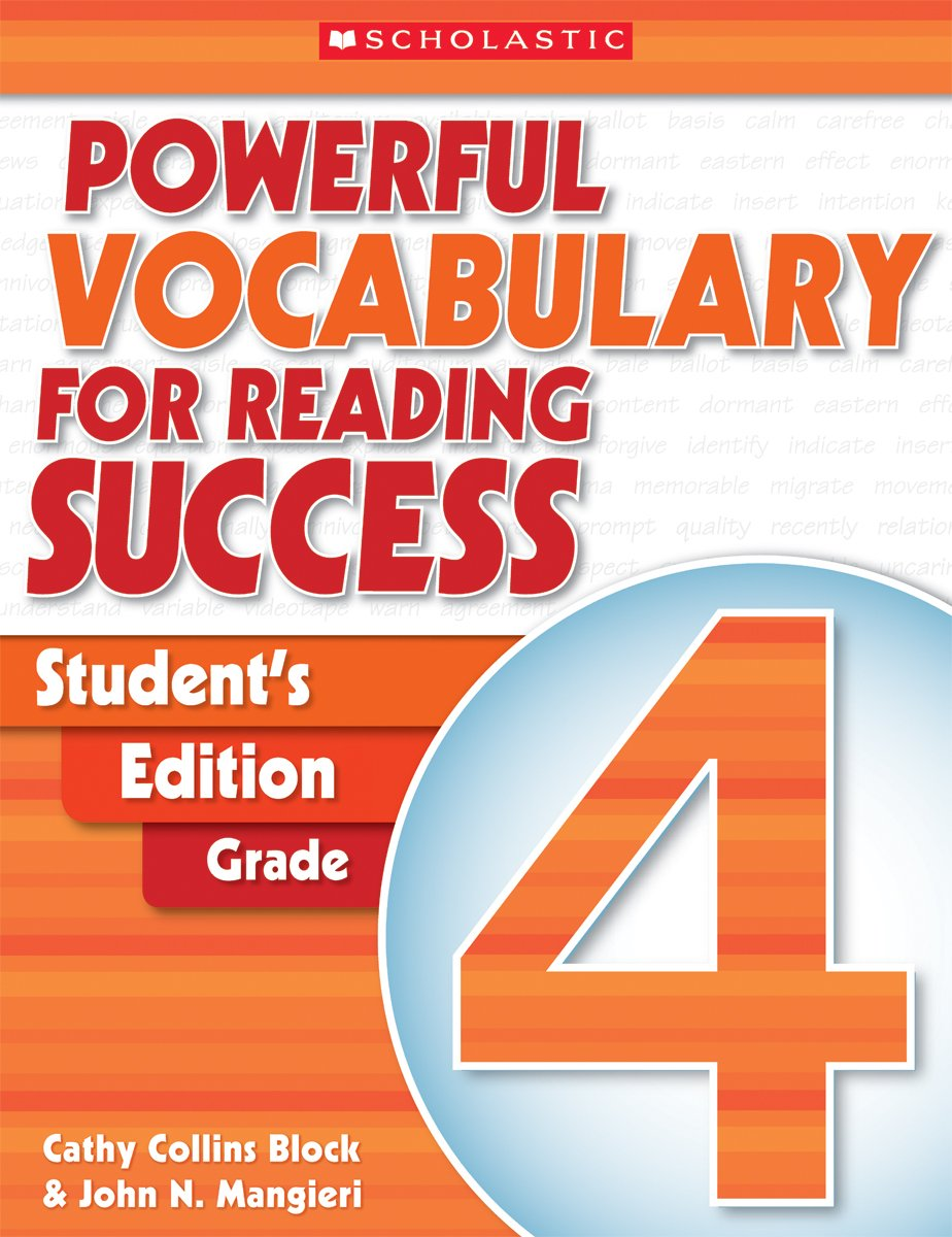 Powerful Vocabulary for Reading Success: Student Workbook, Grade 4 ...