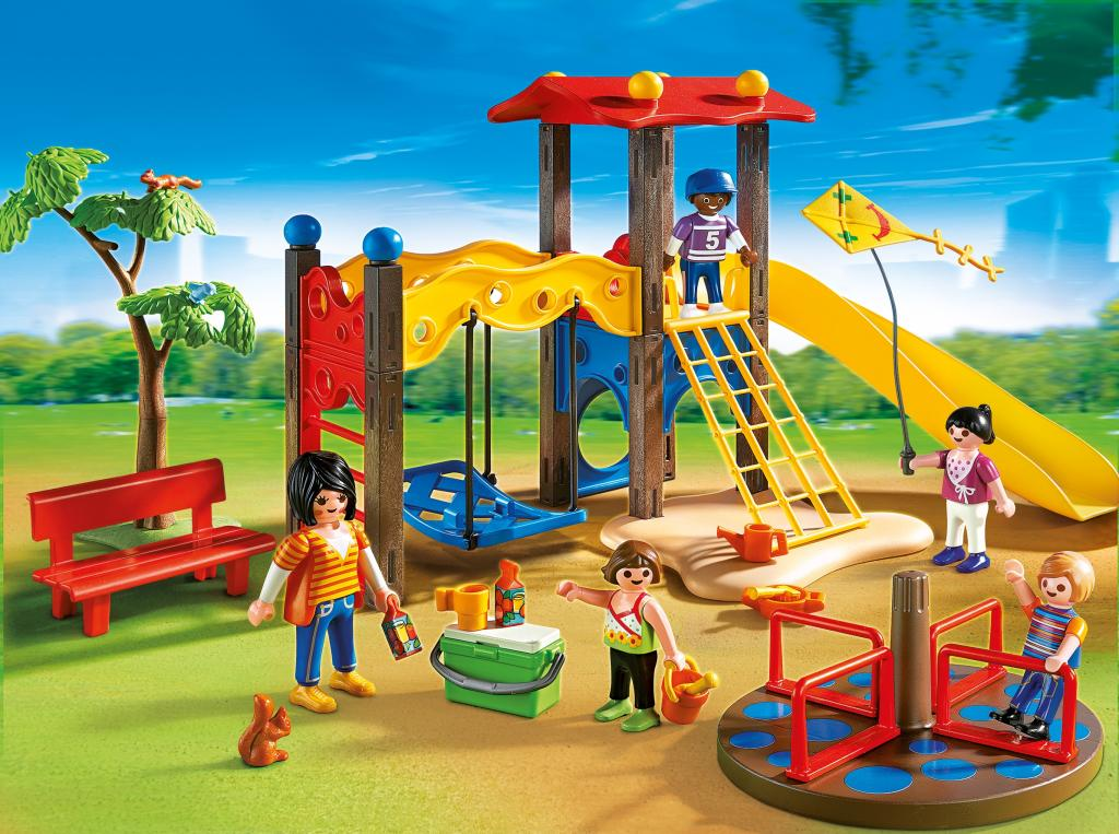 Amazon.com: PLAYMOBIL Playground: Toys & Games