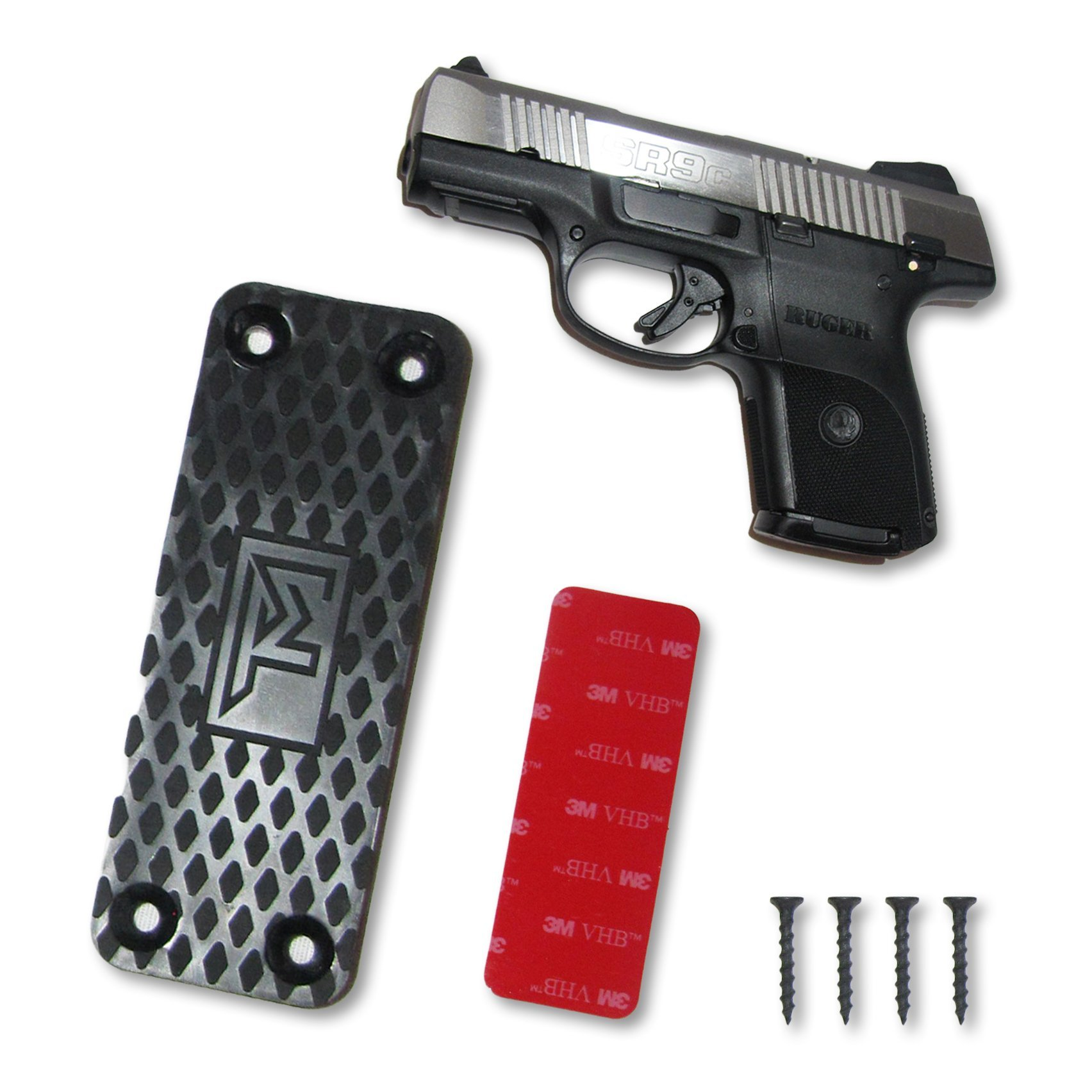 TM Outdoors Ultra-Powerful Ultra-Strong Hold Gun Magnet -Gun Accessory -Convenient and Sturdy Gun Storage  Organizer on Any Surface -Light to Heavy Gun Holder Up To 43 Pounds by TM Outdoors (Image #1)