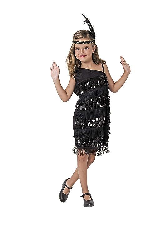 Costumizate! Disfraz de Charleston Talla 5-6 Especial para niños ...