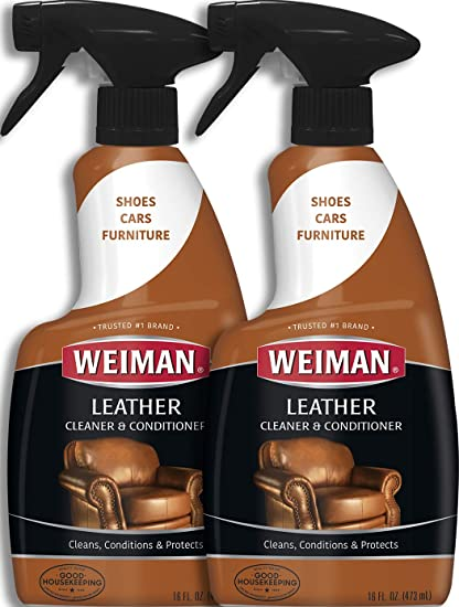 Swell Weiman Leather Cleaner And Conditioner 16 Ounce 2 Pack Use On Your Couch Chair Purse Wallet Shoes Boots Saddle Belt Jacket Car Seat And More Forskolin Free Trial Chair Design Images Forskolin Free Trialorg