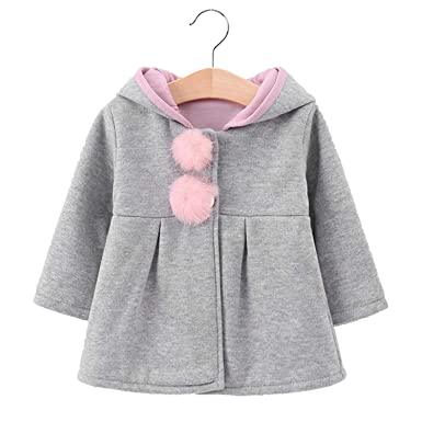 5633b19be Image Unavailable. Image not available for. Color: Newborn Baby Snowsuit Girls  Coats and Jackets Baby Warm Overall Kids Boy ...