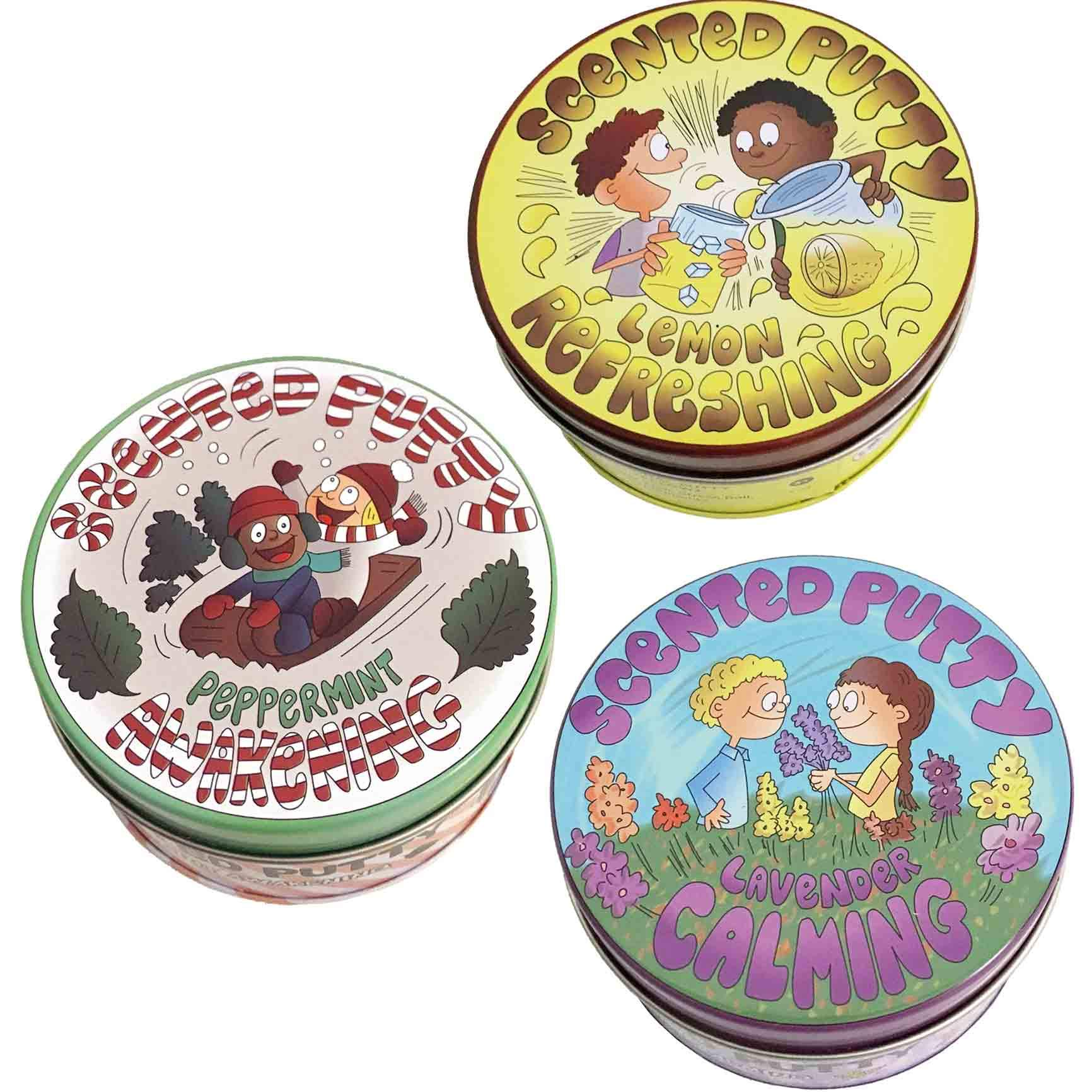 Scented Putty: Therapeutic 3 Pack - Aromatherapy, Mood Enhancing, Essential Oil by Fun and Function