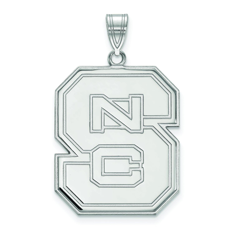 NC状態Extra Large (1インチ) ペンダント(10 Kホワイトゴールド)   B01IYEWTKW
