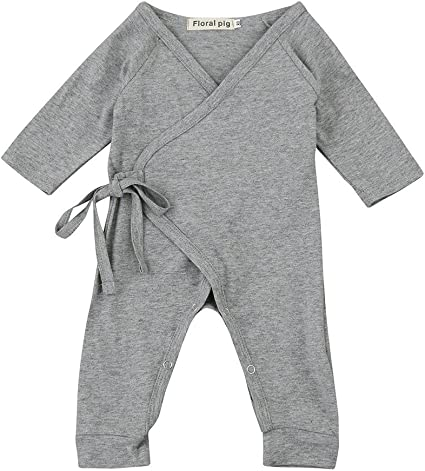 US Wings Newborn Baby Boy Girl Tops Romper Jumpsuit Bodysuit Sets Outfit Clothes