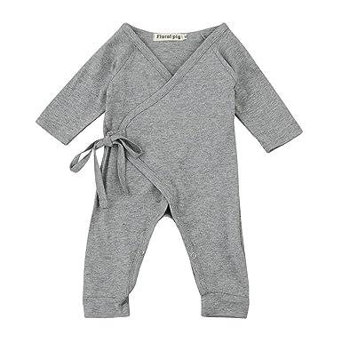 39acd7e77d9f Zerototens Newborn Infant Baby Girls Boys Jumpsuit Swings Japanese ...