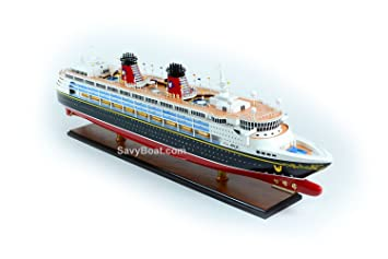 Amazoncom Disney Magic Cruise Ship Handmade Wooden Ship Model - Toy disney cruise ship