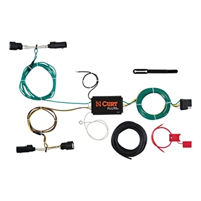 CURT 56272 Vehicle-Side Custom 4-Pin Trailer Wiring Harness for Select Ford Edge: Automotive