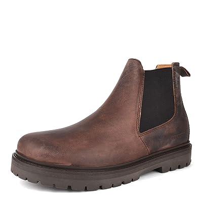 b14382b19d65 Birkenstock Stalon Mocha Nubuk Leather Chelsea Boot 5.5 UK Mocha ...