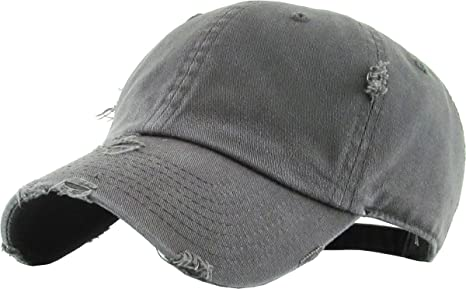 6c708a83f66 Heren  accessoires White Vintage Distressed Retro Low Profile Polo Baseball  Cap Caps Dad Hat Hats