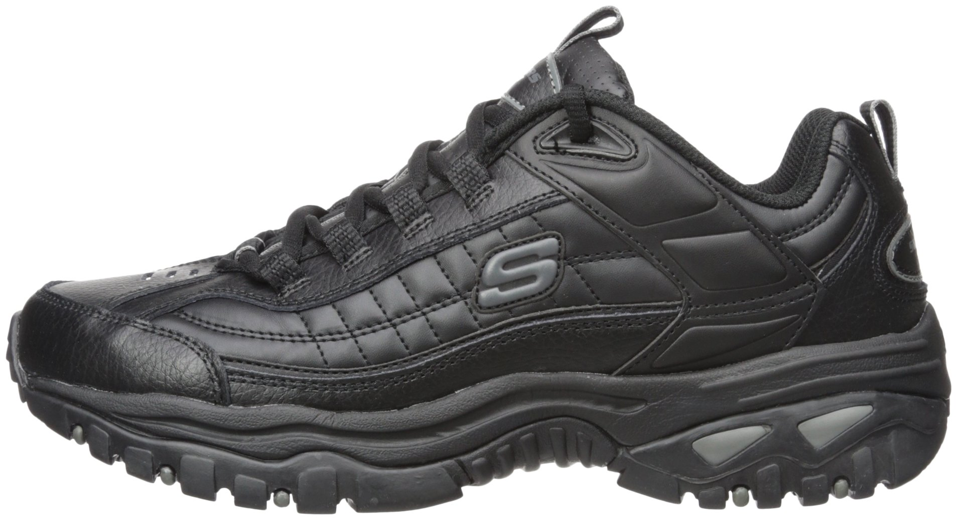 Skechers Sport Men's Energy Afterburn Lace-Up Sneaker,Black,13 M by Skechers (Image #5)