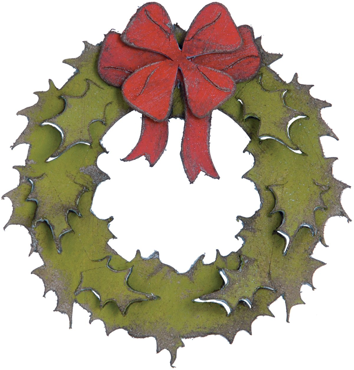 Christmas Wreath Cutting Dies