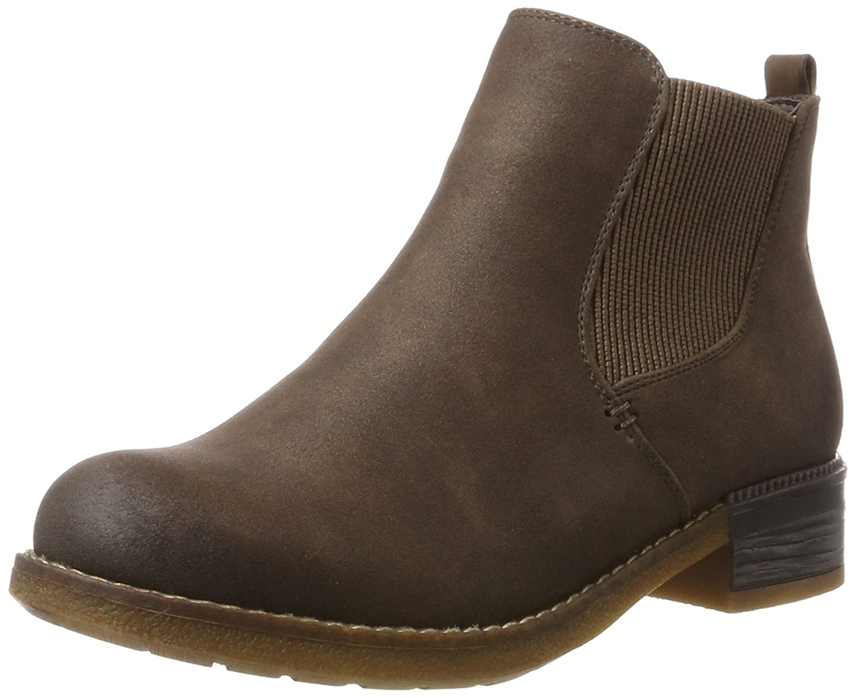 Rieker Damen 94680 25 Chelsea Boots, Braun (MoroSchoko), 42 GdeHb